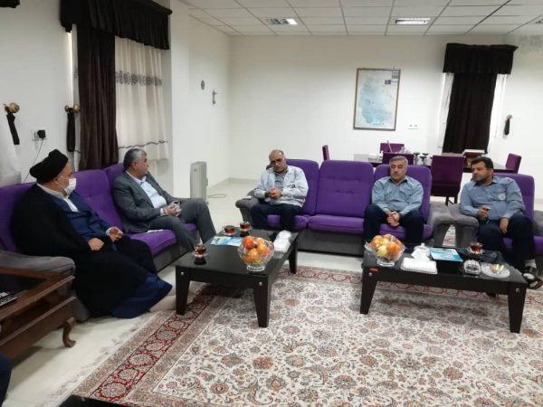 تقدیر و تشکر فرماندار شهرستان هفتکل از مدیریت و پرسنل شرکت سیمان خوزستان