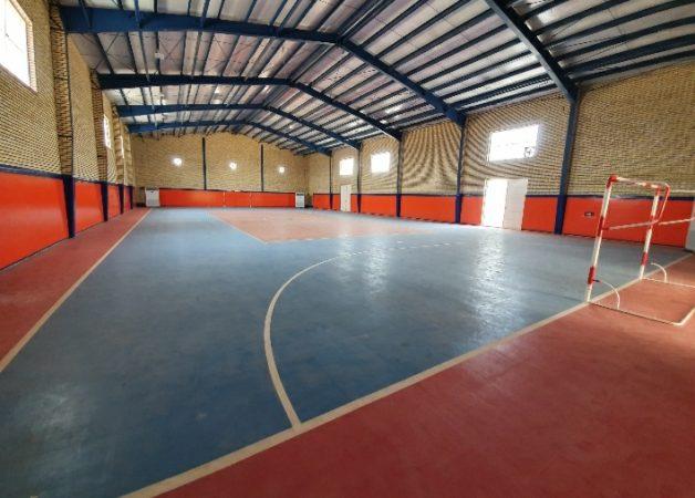 سالن ورزشی شهدای شهرک مدنی در اندیمشک افتتاح شد
