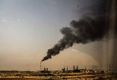 سایه فلرهااز سر شهرهای نفتی کم می شود