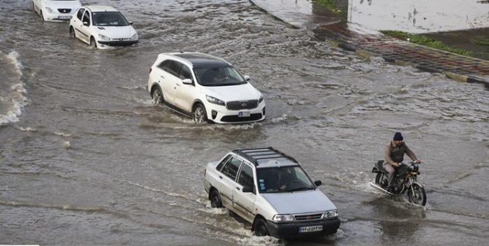 هشدار هواشناسی خوزستان نسبت به احتمال طغیان مسیلها و آبگرفتگی معابر