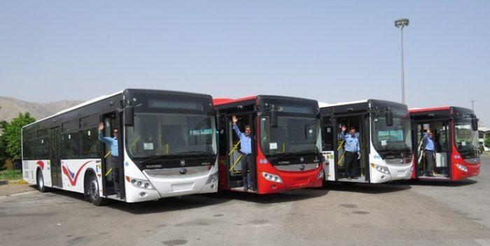 ساعات سرویسدهی اتوبوسرانی اهواز