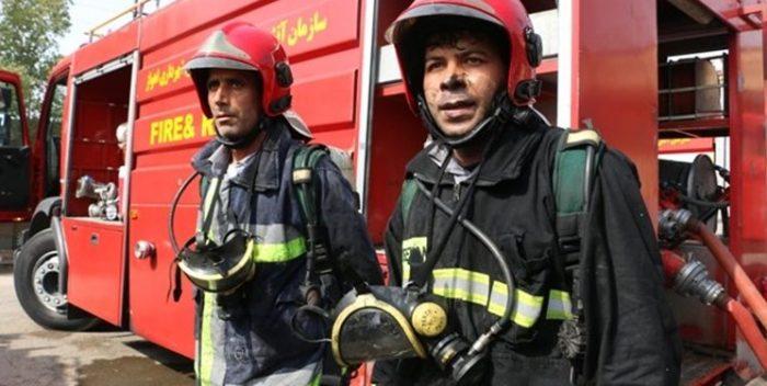 ۴۶ نفر از نیروهای آتش نشانی اهواز در ۴ ماه گذشته به کرونا مبتلا شدند