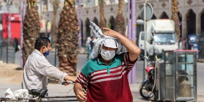غبار صبحگاهی و افزایش دما پدیده غالب این روزهای خوزستان