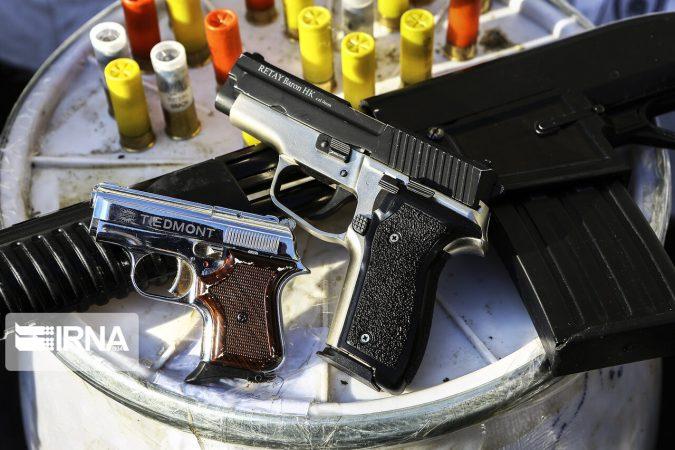 دستگیری اعضای باند قاچاق اسلحه در خوزستان