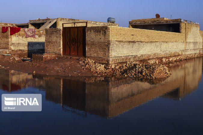 بنیاد مسکن خوزستان متولی پرداخت خسارات آبگرفتگی کوت عبداله و اهواز شد