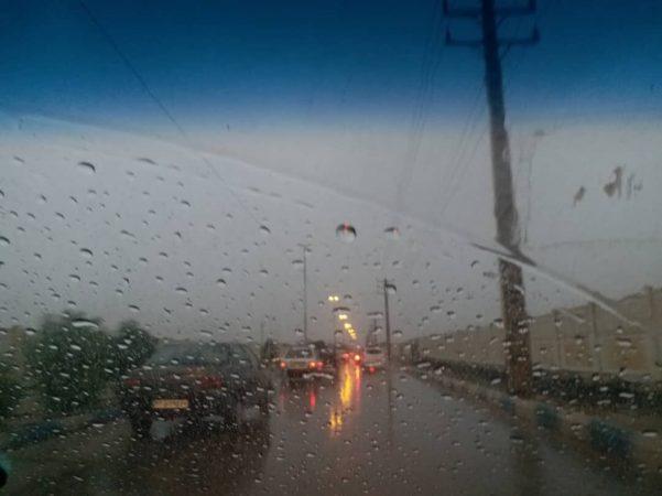 اخطار هواشناسی خوزستان نسبت به باران سیلآسا