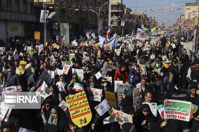فرماندار اهواز: مردم با حضور در راهپیمایی ۲۲ بهمن ثابت کردند پشتیبان انقلاب هستند