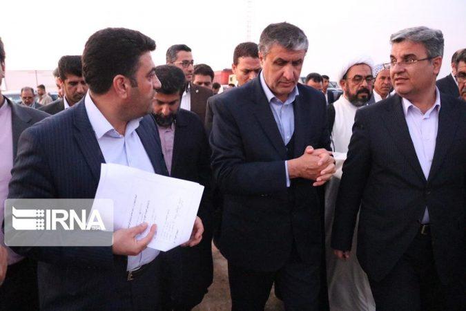 بازدید وزیر راه و شهرسازی از محور دارخوین-شادگان – خور دورق