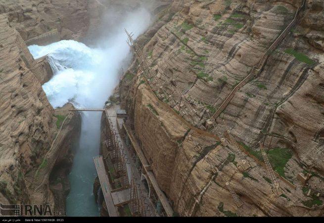 هشدار در پی افزایش دبی رودخانه دز