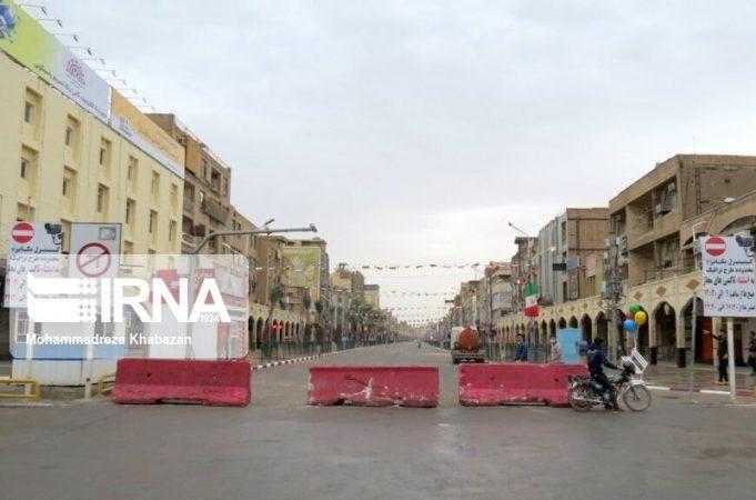 محدودیت ترافیکی در شهرهای خوزستان ادامه دارد