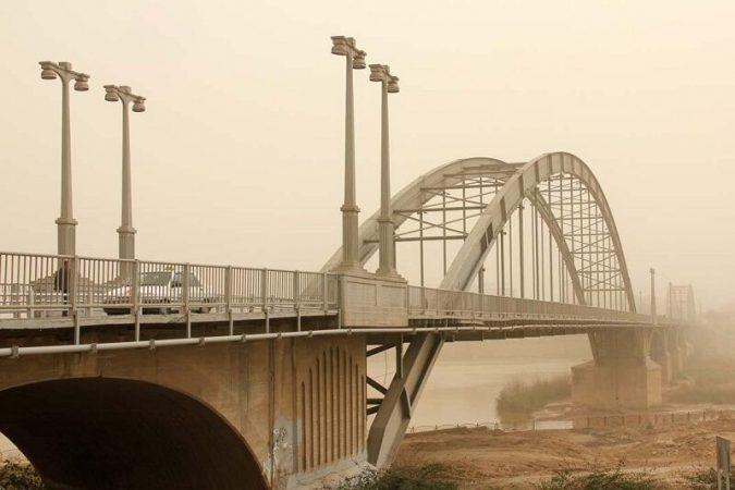 گرد و غبار عراقی در راه خوزستان