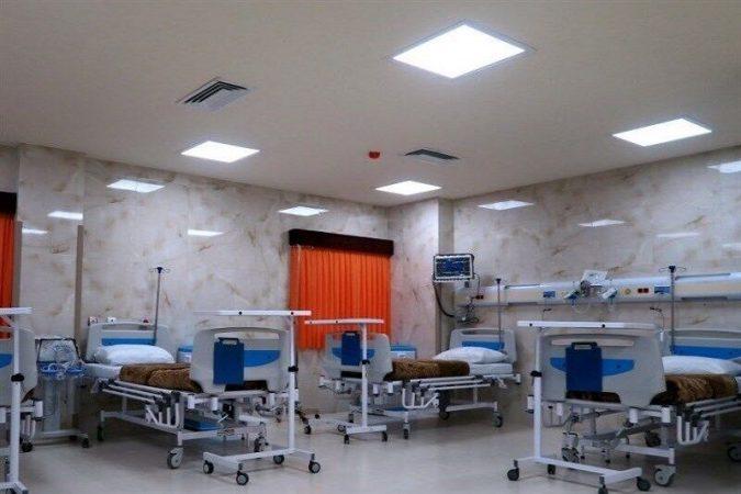 ۸۰درصد تختهای عادی بیمارستانهای معین کرونا در خوزستان پر شد