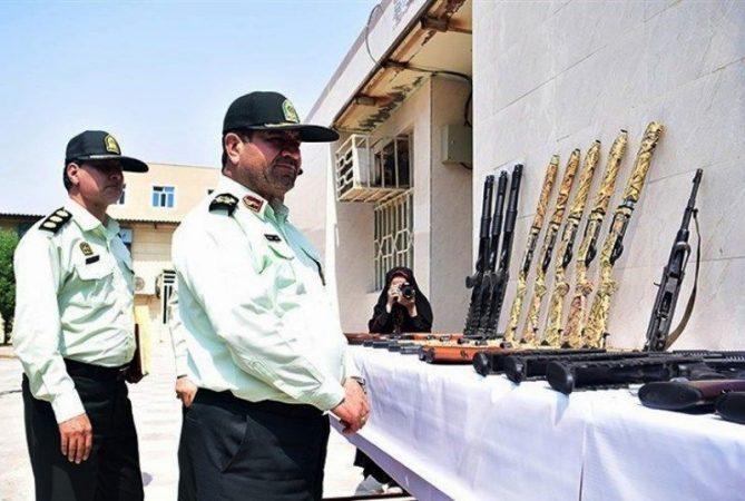 کشف ۱۵۳ قبضه سلاح غیرمجاز در خوزستان