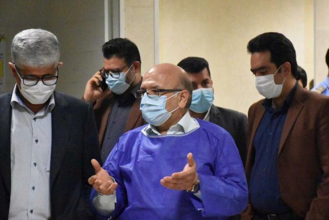 نماینده وزیر بهداشت از بیمارستانهای آبادان و خرمشهر بازدید کرد