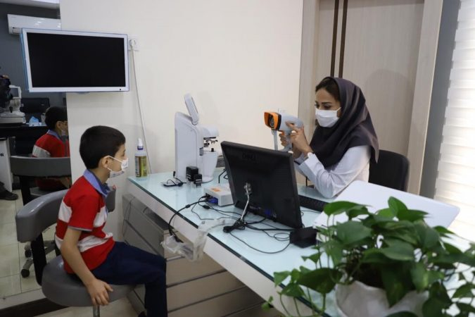 طرح پیشگیری از تنبلی چشم کودکان در خوزستان آغاز شد