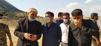 استاندار خوزستان: مشکل آب شرب بخش دهدز در دست پیگیری است