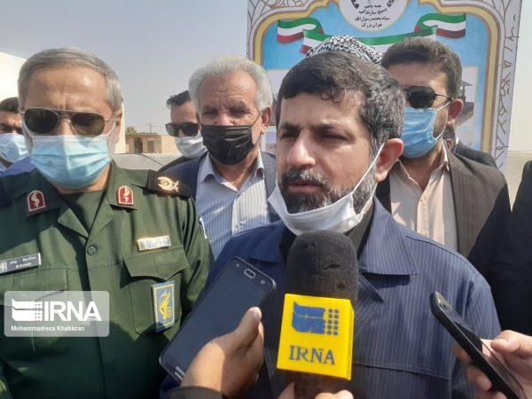 استاندار خوزستان : آب روستاهای غیزانیه با نصب مخازن آبرسانی پایدار شد