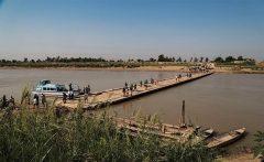تعمیر پل موقت عنافچه باوی توسط ارتش آغاز شد
