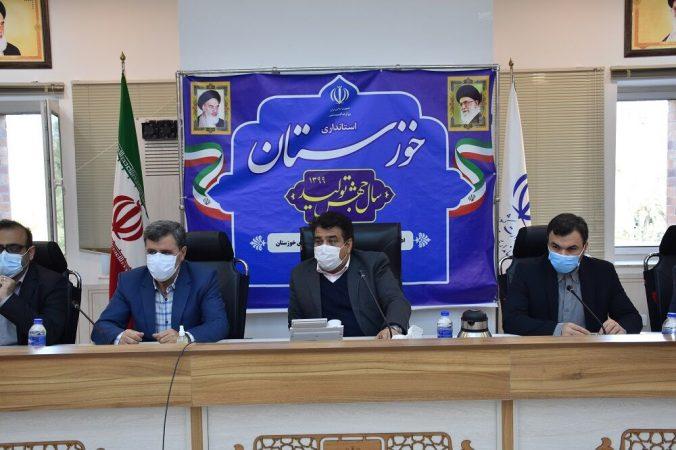 کاهش ۶۷ درصدی آورد سه رودخانه خوزستان در فرودین ماه