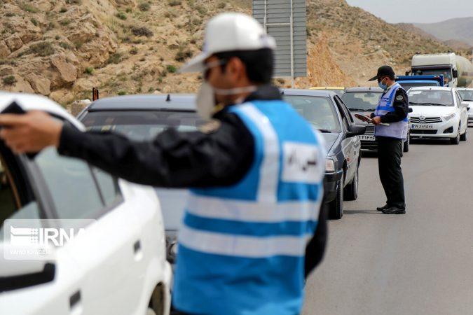 بیش از ۲ هزار خودرو در خوزستان جریمه شدند