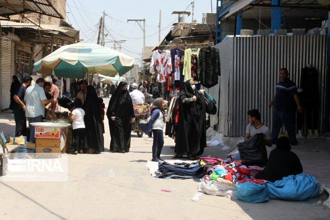 رعایت پروتکل های بهداشتی در برخی شهرهای خوزستان رضایت بخش نیست