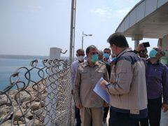 بازدید دبیر مجمع تشخیص مصلحت نظام از سد کرخه