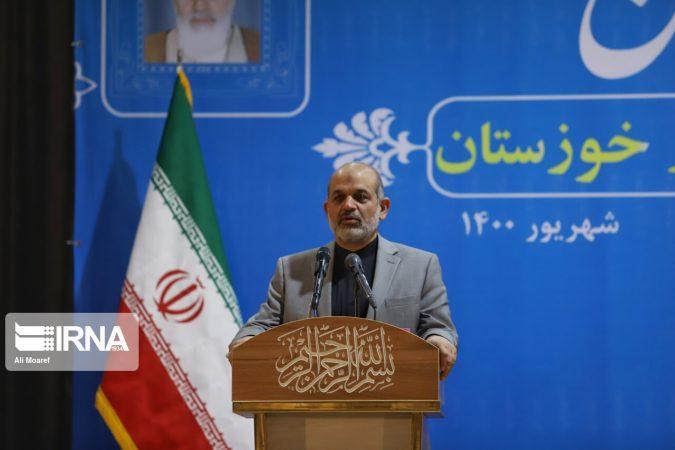 وزیرکشور: خوزستان ظرفیت های زیادی برای برون رفت از مشکلات موجود دارد