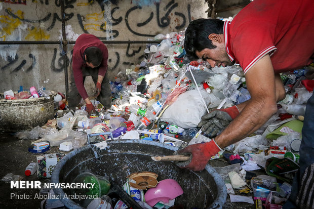 ۵۰ واحد کوچک بازیافت زبالههای خشک در اهواز راه اندازی می شود
