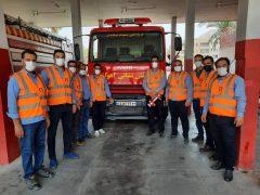 دوره توانمندسازی آتشنشانان شرکت خمیرمایه و الکل رازی برگزار شد