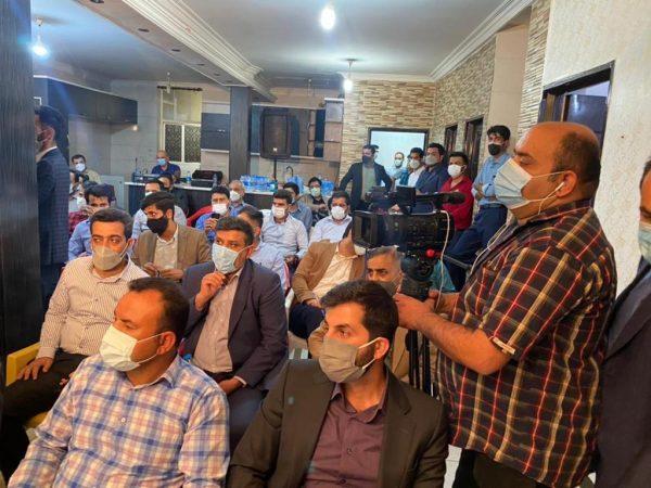 افتتاح ستاد انتخاباتی دکتر همتی در خوزستان