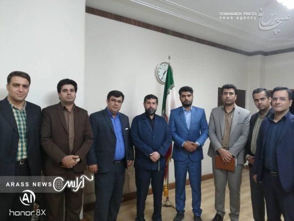گزارش تصویری/ نشست اعضای هیات رئیسه مجمع انتخاباتی جوانان خوزستان با دکتر شریعتی استاندار خوزستان