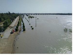 سیلاب لرستان اواخر امشب یا فردا به خوزستان میرسد