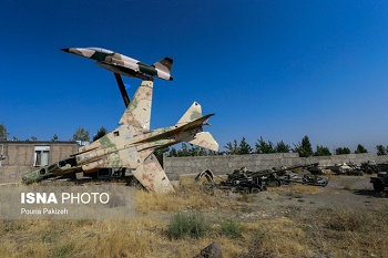افتتاح باغ موزه آبادان در هفته دفاع مقدس