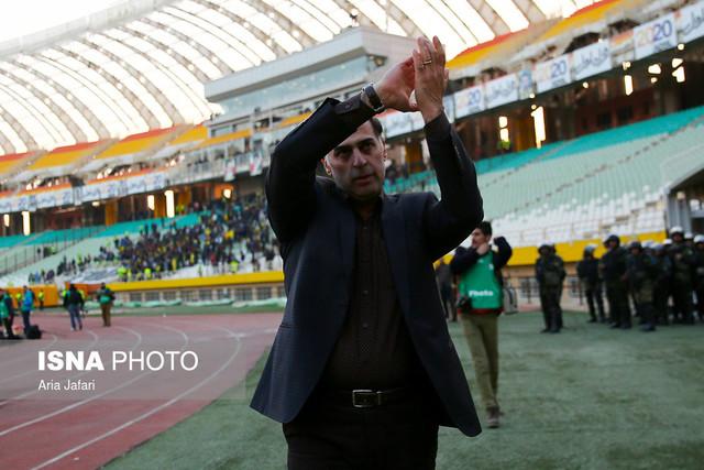آذری: هواداران فولاد و استقلال را به آرامش دعوت میکنم/ جنگ ما درون زمین است