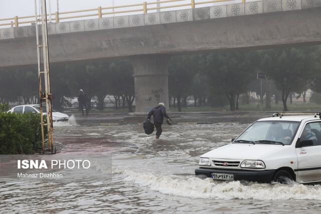 پیگیری تخصیص اعتبار دفع آبهای سطحی خوزستان