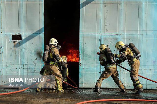 انجام بیش از ۲۱۰۰ ماموریت آتشنشانی در اهواز / خارجسازی جسد ۸ شهروند از کارون