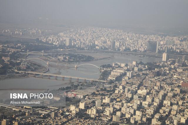 """افزایش تعداد شهرهای """"ناسالم"""" خوزستان"""