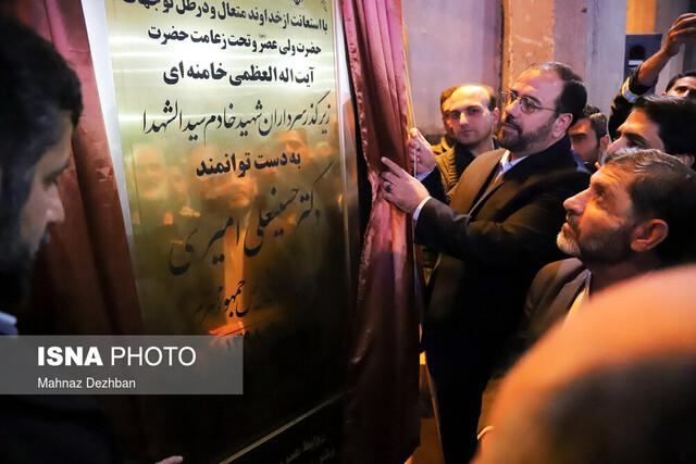 پل زیرگذر شهیدان خادم سیدالشهدا شوشتر افتتاح شد