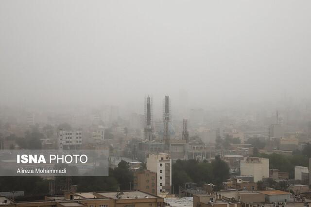اخطاریه هواشناسی خوزستان در خصوص گرد و غبار فردا