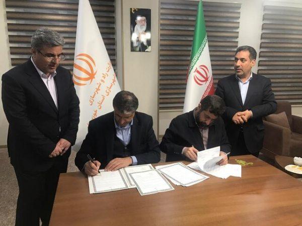 امضای تفاهمنامه احداث باند دوم محور اهواز – خرمشهر و پل نهم