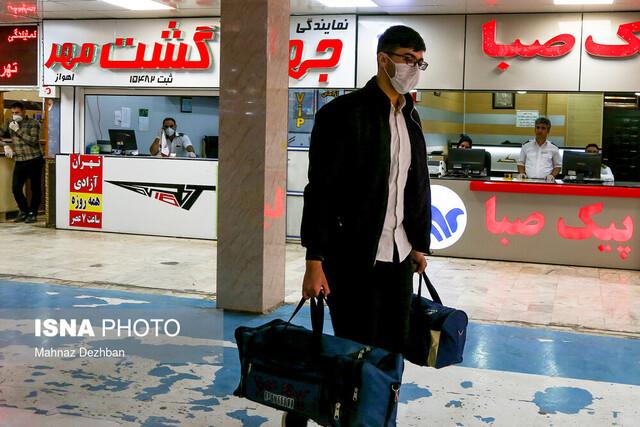 کاهش ۴۰ درصدی جابهجایی مسافر از خوزستان