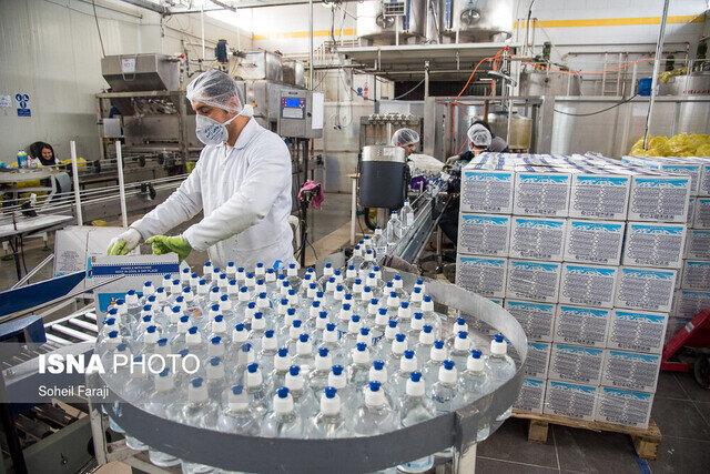 راهاندازی خط بستهبندی الکل در شرکت توسعه نیشکر و صنایع جانبی