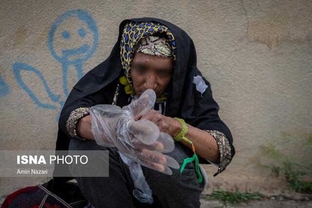 غربالگری و شناسایی معتادان متجاهر مبتلا به کرونا در خوزستان