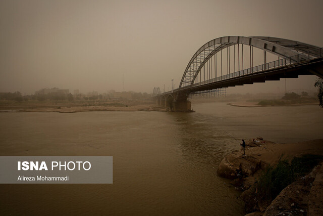 خوزستان، تندباد و خاک