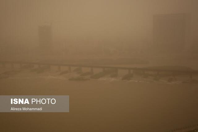 خاک همسایه در آسمان خوزستان