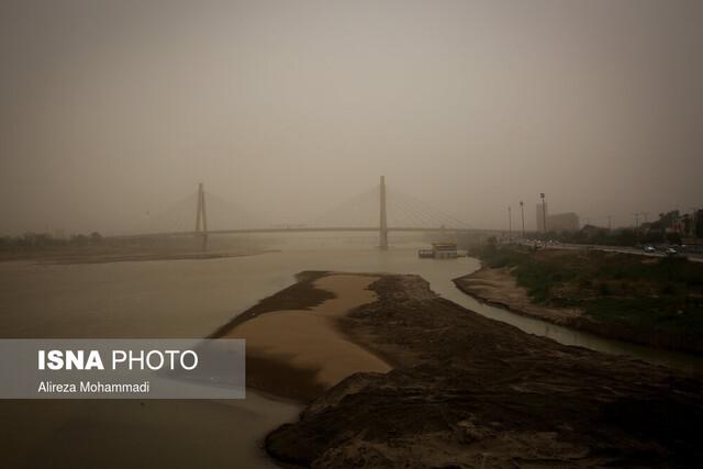 امروز خوزستان، گرد و خاک محلی