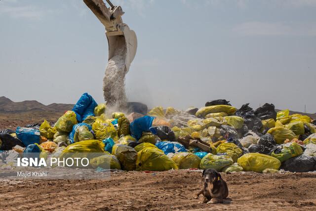 پیگیری قضایی آتشسوزیهای سایت دفن زباله اهواز