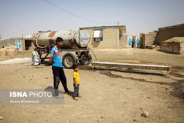 خطر بیماریهای رودهای، بیخ گوش روستاییان بیآب خوزستان