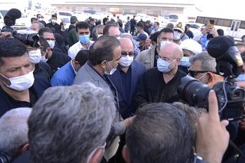 پیگیری مطالبات و مشکلات صیادان بندر خرمشهر توسط رئیس مجلس