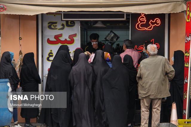 تخصیص سهمیه جدید مرغ منجمد به خوزستان